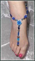 Belly Dancing Barefoot Gypsy Sandals