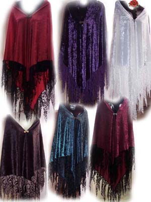 Lots of pretty colours in this fairy gypsy wrap