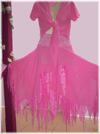 pink cheesecloth fairy set