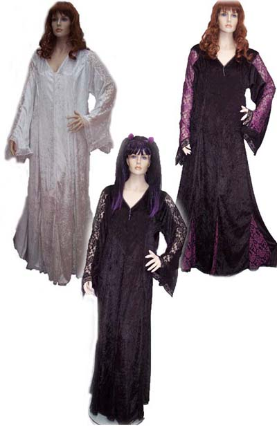 Collection of Lady Juila Velvet & Lace Dresses