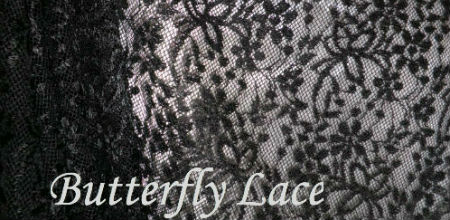 Black Butterfly lace