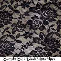 Sample Soft Rose Lace Fabric