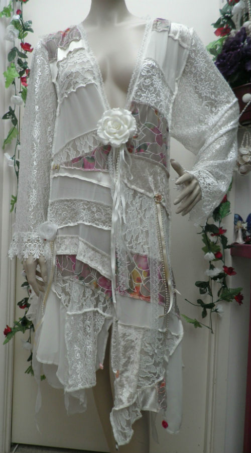 Ivory Lace Mother of the Bride Jacket