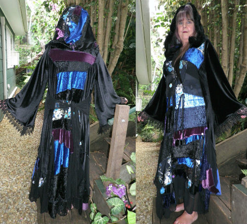 Gypsy Bohemian Patchwork Magical Stevie Nicks Style Coat