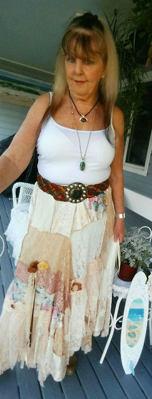 Stevie Nicks Bohemian Gypsy Skirt