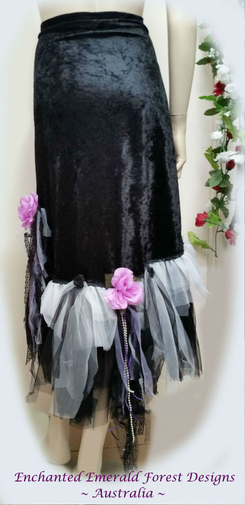 Black Gypsy Shawl