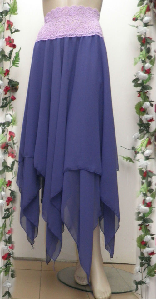 Purple Stevie Nicks Style Rhiannon Skirt