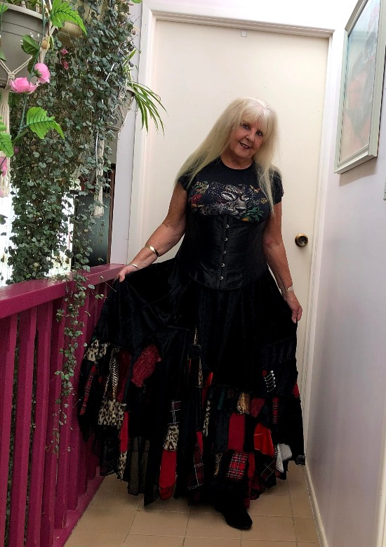 SteamPunk Stevie Nicks Skirt