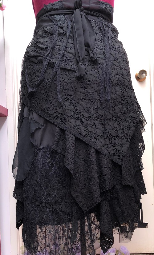 Stevie Nicks Black Skirt